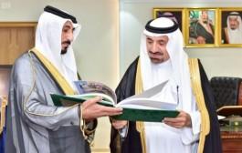 سمو أمير نجران يستعرض التقرير الختامي لفرع المعلومات الوطني