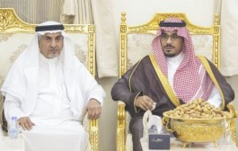 سمو نائب أمير نجران يواسي أسرة آل نصيب