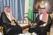 سمو الأمير تركي بن هذلول يلتقي رئيس نادي نجران الرياضي