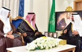 سمو أمير نجران وسمو نائبه يستقبلان الرئيس التنفيذي لشركة حفر آبار البترول والغاز