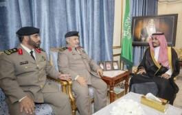 سمو نائب أمير نجران يستقبل مدير شرطة المنطقة