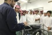 طلاب «ثانوية الملك فهد» يزورون الكلية التقنية بنجران