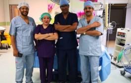 نجاح عملية إبدال مفصل كامل لمريض في نجران