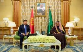 خادم الحرمين الشريفين ورئيس جمهورية قرغيزستان يعقدان جلسة مباحثات رسمية