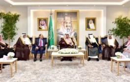 سمو أمير نجران يستقبل رئيس وأعضاء مجلس الأعمال السعودي اليمني