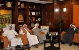 أمين نجران يلتقي رئيس المجلس البلدي بالمنطقة
