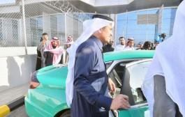 وزير النقل يدشن أجرة المطار والأجرة العامة بهويتها الجديدة