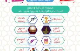 محافظ شرورة يدشن انطلاق مهرجان اندية الحي بتعليم شرورة