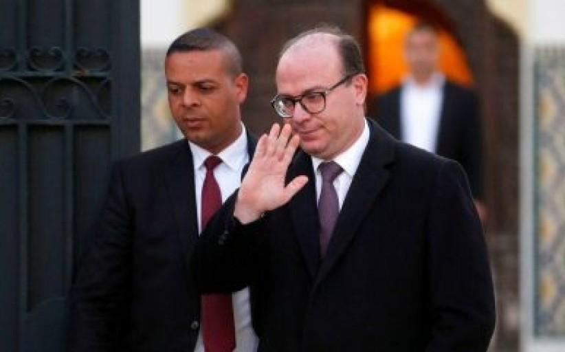 رئيس الحكومة التونسي المكلف إلياس الفخفاخ يعرض حكومته على الرئيس سعيد