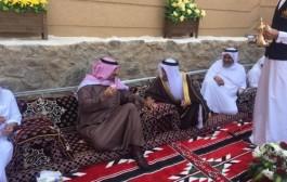 أمير نجران يزور قرية آل منجم التاريخية