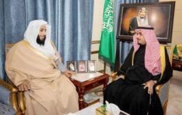 سمو نائب أمير نجران يلتقي رئيس المحكمة العامة بالمنطقة
