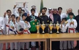 مركز آل رزق الرياضي يسيطر على جوائز بطولة المملكة للهيئات في المنطقة الجنوبية بأبها