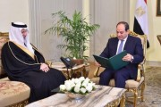 خادم الحرمين الشريفين يبعث رسالة خطية لرئيس جمهورية مصر العربية