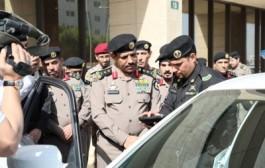 مدير الأمن العام يدشن منظومة مركبات دوريات الأمن الجديدة ويحث على استخدام الدراجات النارية المجهزة في الأماكن الأكثر ازدحاما