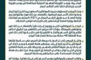 مصدر مسؤول يندد بسلوك إيران غير المسؤول لقيامها بإدخال مواطنين سعوديين إلى أراضيها، دون وضع ختم على جوازاتهم