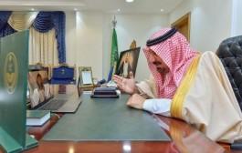 سمو أمير نجران يطمئن في اتصال مرئي على صحة المصابين بفيروس كورونا