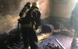 وفاة طفل نتيجة حريق منزلهم بحي الفيصلية بنجران
