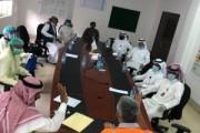 اللجنة المشتركة بمحافظة حبونا تواصل جولاتها الرقابية على المحلات التجارية والشركات ومقرات سكن العمالة
