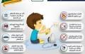 الدفاع المدني يوجه رسائل توعوية تضمن سلامة الأطفال داخل المنازل