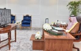 سمو أمير منطقة نجران يرأس الجلسة الافتراضية لمجلس المنطقة