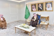 سمو أمير منطقة نجران يستقبل رئيس محكمة الاستئناف بالمنطقة