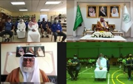 سمو الأمير جلوي بن عبدالعزيز يبارك استئناف تدريبات فريقي نجران والأخدود