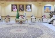 سمو أمير نجران في لقاء المعايدة: الشعب عبّر عن مشاعره للملك بكلمتين