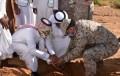 """ضمن حملة """" لنجعلها خضراء """"وبالتعاون مع القوات البرية : زراعة شرورة تزرع 7000 شتله بمقر القوات البرية"""