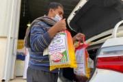 1500 مستفيد من  السلال الغذائية بنجران