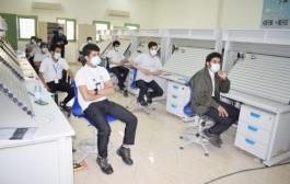 كلية التقنية بنجران تواصل توعية منسوبيها للوقاية من فيروس