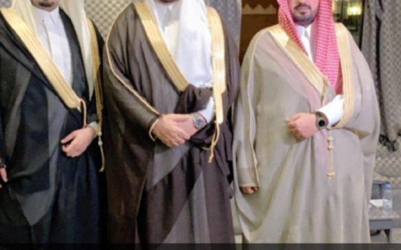 الشيخ خالد ال رشيد  يحتفل بزواج ابنه فيصل