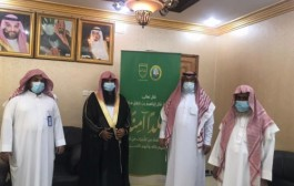 رئيس مركز الوديعة يطلق حملة (ربِّ اجعل هذا البلد آمناً) لتعزيز الأمن الفكري