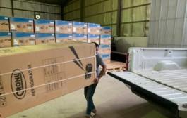 توزيع أجهزة كهربائية بتكلفة 560 ألف بخيرية نجران