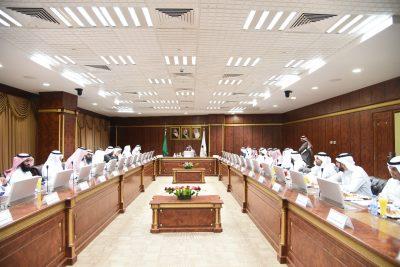 مجلس جامعة نجران يعقد اجتماعه الثاني للعام الجامعي 1439/1440هـ