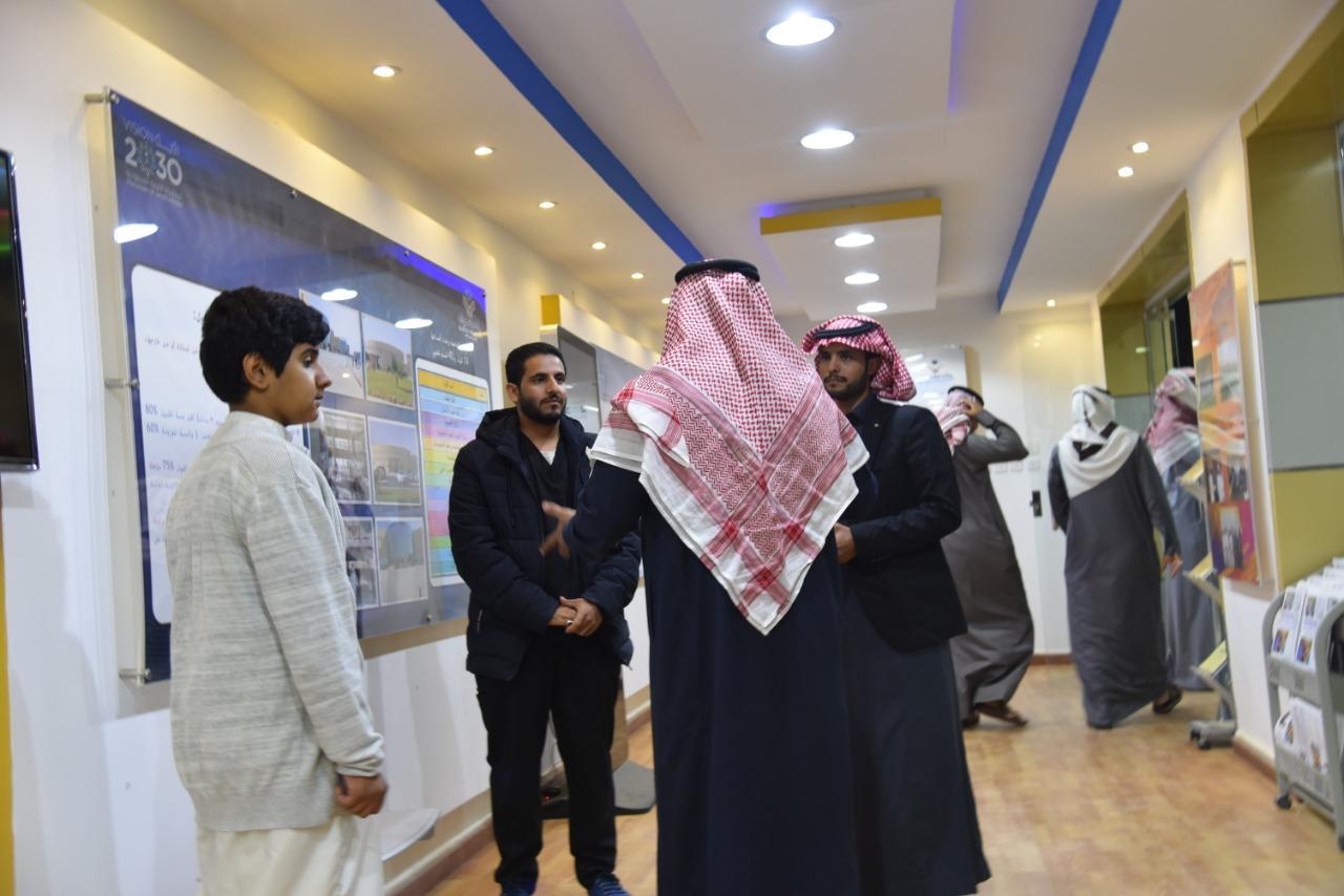 جناح جامعة نجران بالجنادرية يحظى بإقبال الزوار
