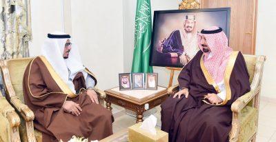 أمير نجران يبحث مع رئيس لجنة حقوق الإنسان بالشورى تنظيم إصلاح ذات البين