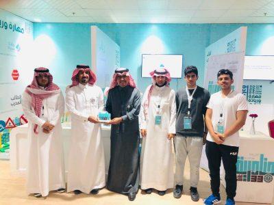 ٥ طلاب رياديين من تعليم نجران يشاركون في جناح التعليم بالجنادرية
