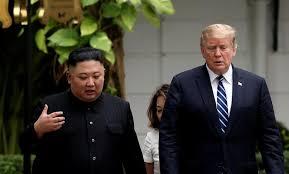 ترامب: المحادثات مع كيم فشلت بسبب طلب بيونجيانج رفع العقوبات