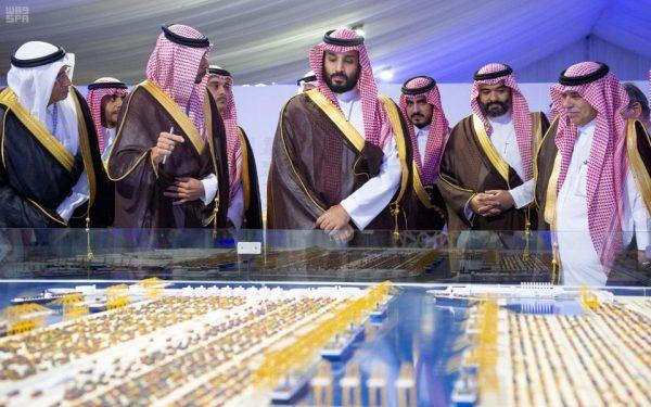 سمو ولي العهد يدشن ميناء الملك عبدالله في رابغ
