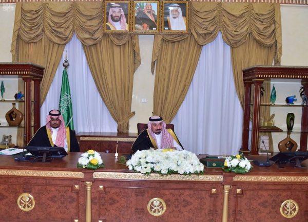 أمير نجران يرأس مجلس المنطقة ويستعرض الميزانيات المعتمدة للجهات الحكومية