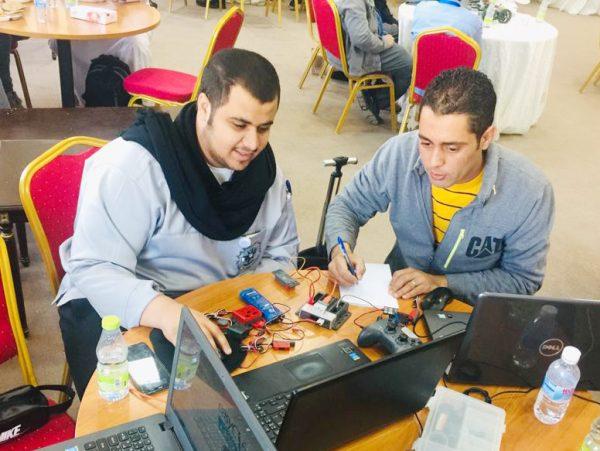 الكلية التقنية بنجران تشارك في الدورة التحضيرية لأولمبياد الروبوت بالطائف