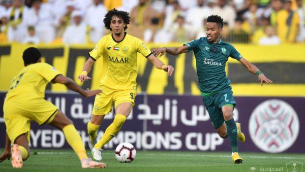 الأهلي السعودي يتعادل مع الوصل الإماراتي بهدفين في ربع نهائي كأس زايد للأندية العربية الأبطال