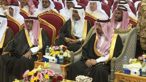كرم سموه 90 طالباً : أمير نجران يشهد حفل جائزة التفوق العلمي