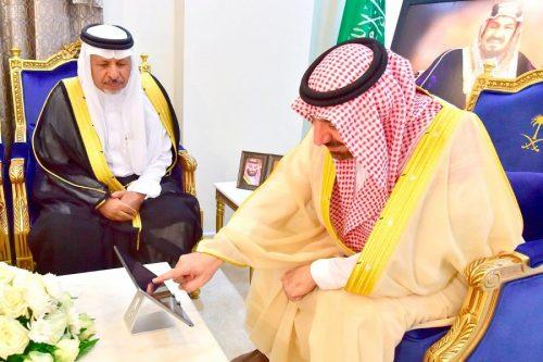 سمو أمير نجران يدشن حملة تفريج كربة