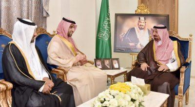 الأمير جلوي يستقبل الرئيس التنفيذي لشركة أسمنت نجران