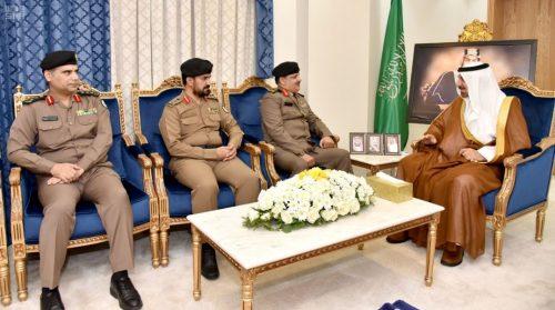 سمو أمير نجران يستقبل مدير عام السجون بالمملكة