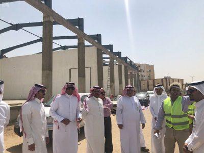 أمين نجران يتفقد المشاريع البلدية الجاري تنفيذها بالمنطقة