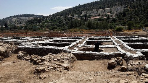 مستوطنة قديمة قرب القدس تكشف