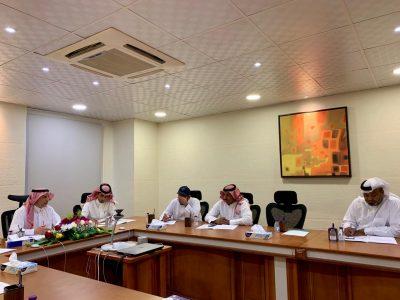 مدير عام التدريب التقني بالمنطقة يترأس اجتماع قادة المنشآت التدريبية بنجران