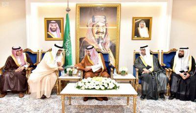 سمو أمير نجران يستقبل رئيس مجلس إدارة الجمعيات التعاونية